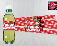 Rótulo de Guaraná Minnie
