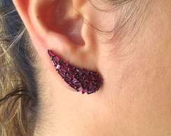 Ear Cuff Filetes Marsala