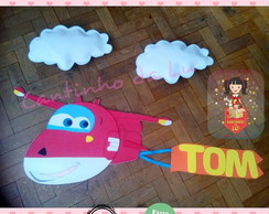 Painel Superwings com nome