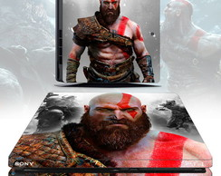 Skin ps4 slim GOD OF WAR 4