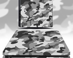 skin ps4 slim camuflado (kit completo)