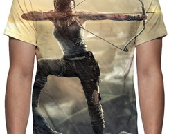 Camiseta Game Tomb Raider Definitive Edition Mod 02