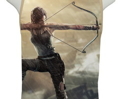 Camiseta Game Tomb Raider Edition Mod 02 - Regata