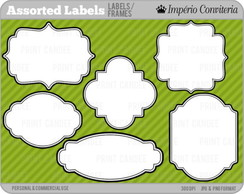 Kit Digital Scrapbook Frames 3