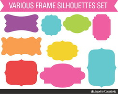 Kit Digital Scrapbook Frames 42
