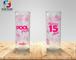 COPO PERSONALIZADO POOL PARTY