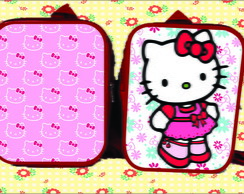 MOCHILA 20x26 PERSONALIZADA hello kitty