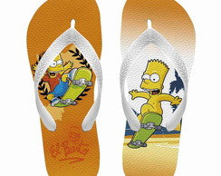 Chinelo Os simpsons - Bart Simpson