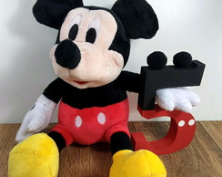 Mickey com número decorado