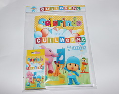 Revista Para Colorir KIT POCOYO