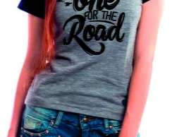 Camiseta Raglan Baby Look Arctic Monkeys One For The Road
