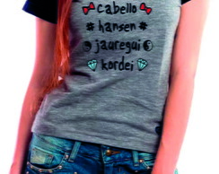 Camiseta Raglan -Baby Look Fifth Harmony 5h