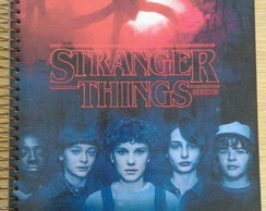 Caderno stranger things 2