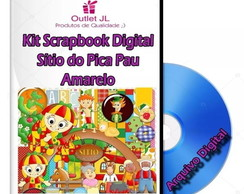 Mega Pack Scrapbook Digital - Sitio Do Pica Pau Amarelo