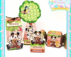 Kit Lembrancinha Safari do Mickey