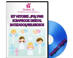 Ultra Pack Scrapbook Digital - Batizados / Religiosos