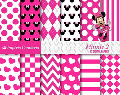 Kit Digital Scrapbook Mickey & Minnie 15