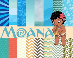 Kit Digital Scrapbook Moana 3