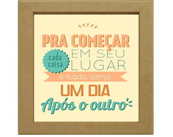 Quadrinho Decorativo Frases