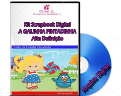 Ultra Pack Scrapbook Digital- A Galinha Pintadinha