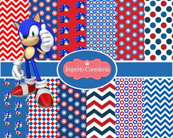 Kit Digital Scrapbook Sonic 3