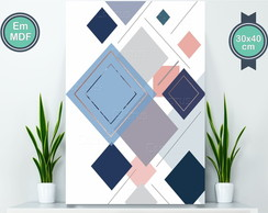 Geometric Triangle Poster