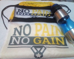 Kit Academia (No Pain No Gain)