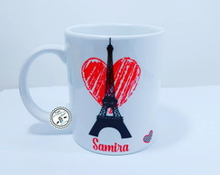 caneca I love paris