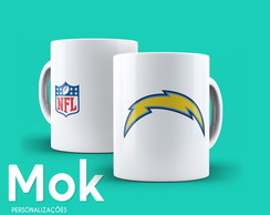 Caneca Los Angeles Chargers NFL