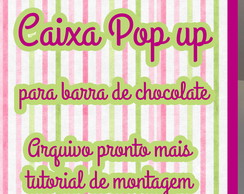 Arquivo de corte - Caixa Retrátil Pop Up