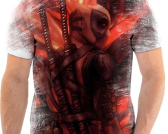Camiseta Camisa Personalizada Deadpool Anti Herói Marvel 5