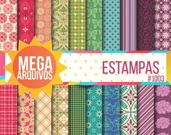 Papel digital estampas