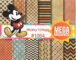 Papel digital Mickey Vintage