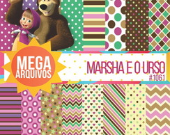 Papel digital Masha e o urso