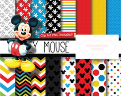 Kit Digital Scrapbook Mickey Mouse 2