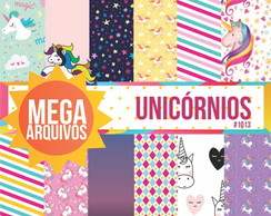 Papel Digital Unicornios