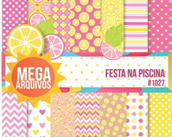 Papel Digital Festa NA PISCINA