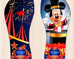 Chinelo Circo do Mickey