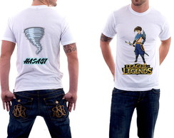 Camisa Masculina League of Legends