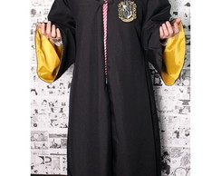 Capa Manto Harry Potter - Lufa-Lufa Cosplay (Amarelo)