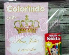 kit pintura coroa princesa elo7