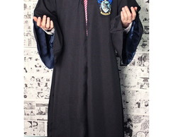 Capa Manto Harry Potter - Corvinal Cosplay (Azul)