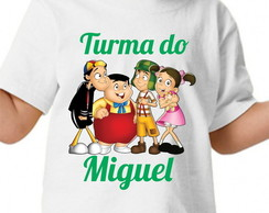 Camisa personalizada - Turma do Chaves