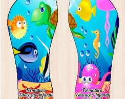 Chinelo Fundo do Mar