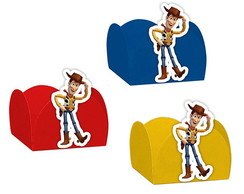 Forminha Doces Festa Toy Story Woody - Sortida - 24 Unidades
