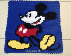 Tapete Croche Mickey Mouse