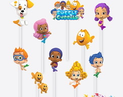 Tag no Palito Bubble Guppies