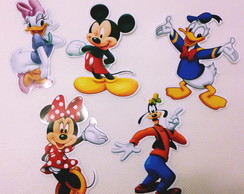 Aplique tubete Turma do Mickey