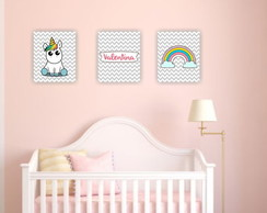 Kit placas decorativas - infantil