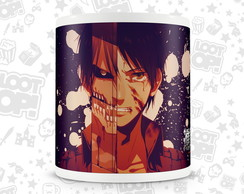 Caneca Attack On Titan Shingeki no Kyojin - LP003